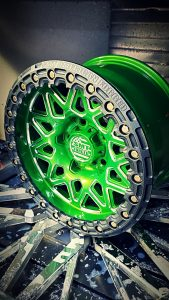 SMT American Forged Off Road Wheels powdercoat green RS8