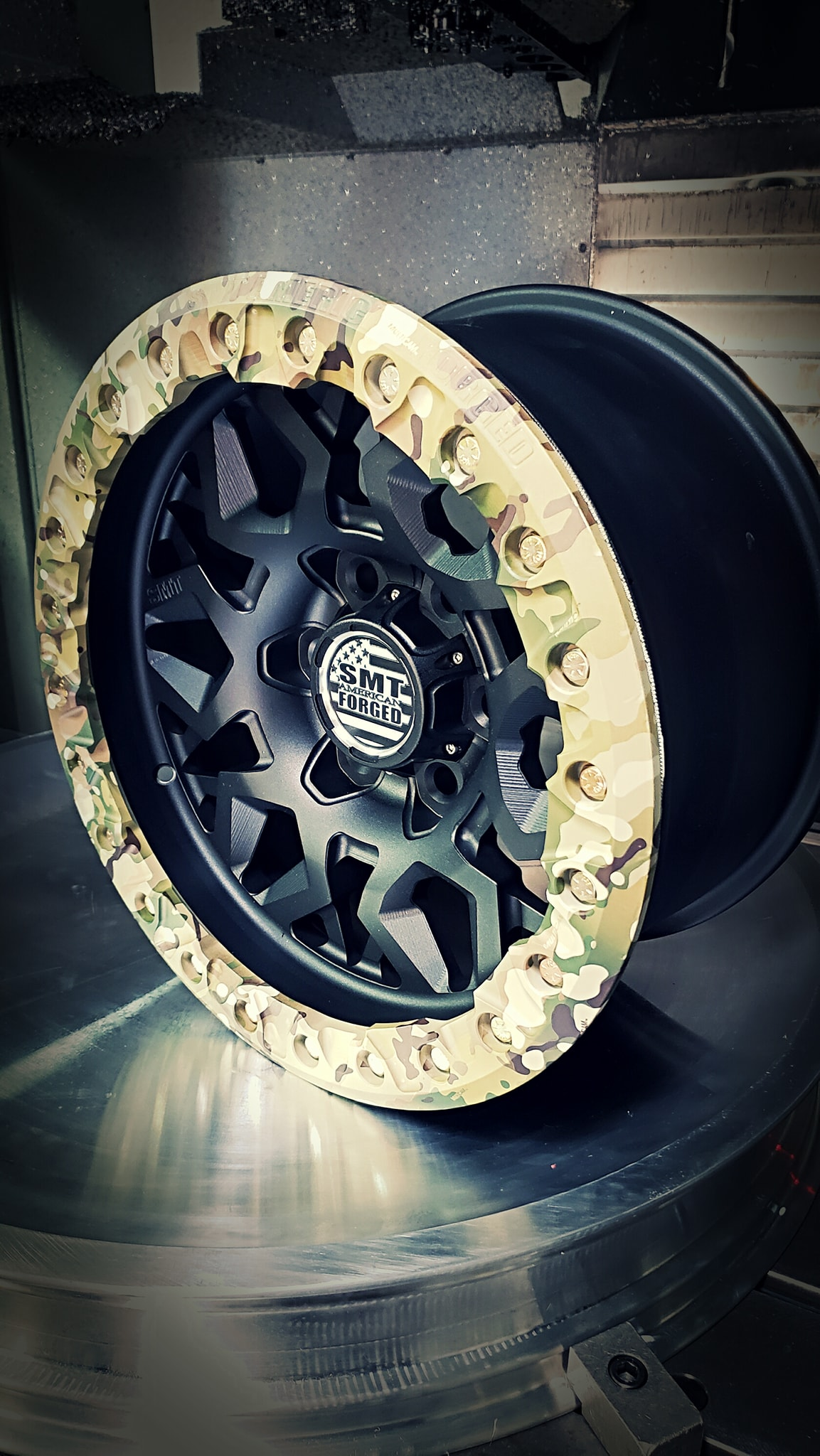 SMT American Forged Off Road Wheel RS5 black and camouflage