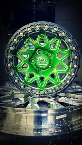 SMT American forged off road wheel RS8 green