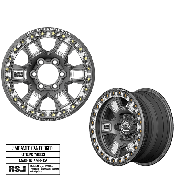 SMT American Forged Off Road Wheel RS1
