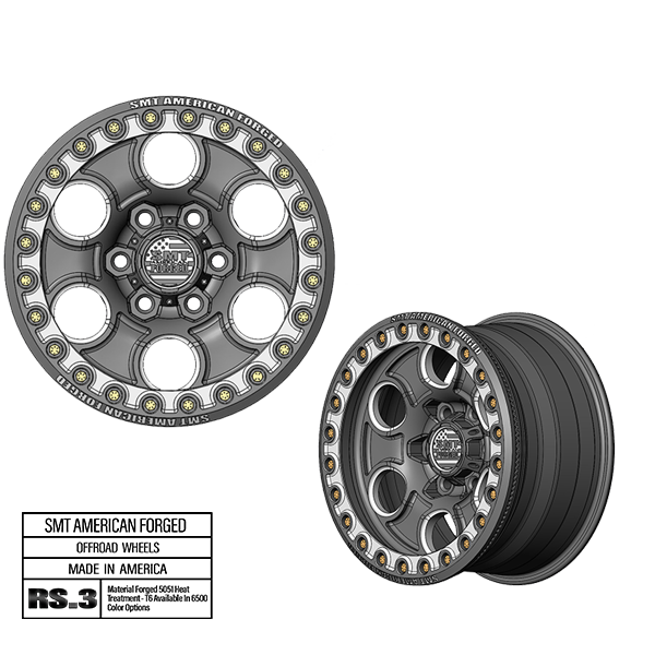 SMT American Forged Off Road Wheel RS3