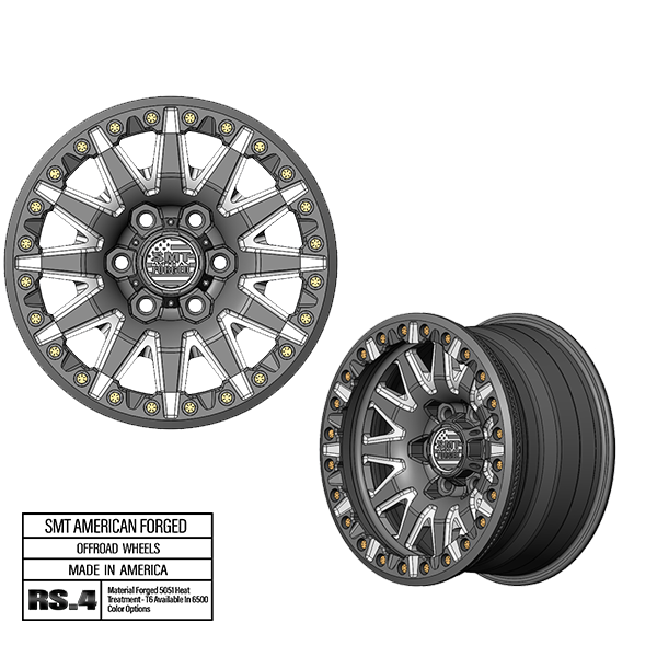SMT American Forged Off Road Wheel RS4