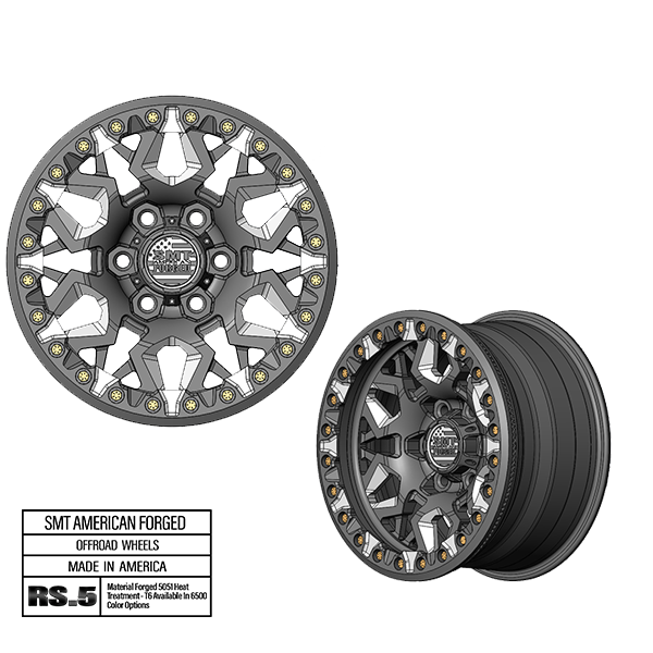 SMT American Forged Off Road Wheel RS5