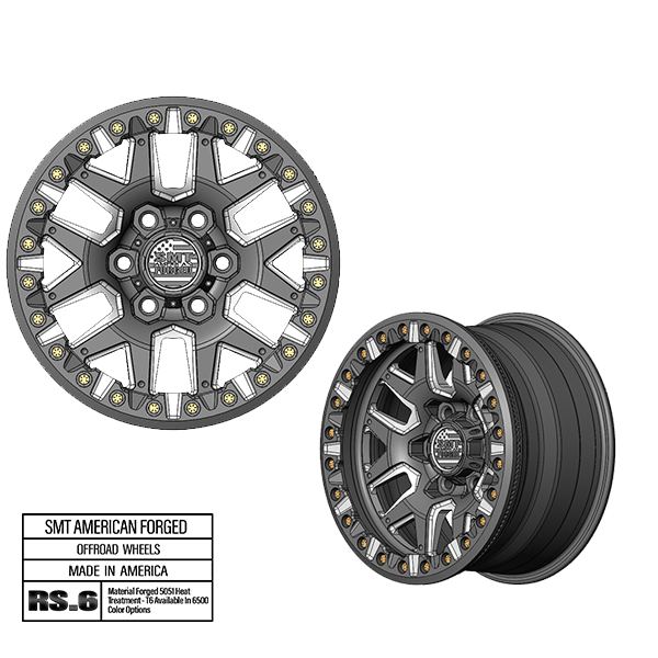 SMT American forged off road wheel rs6