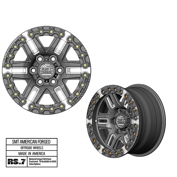SMT American Forged Off Road Wheel RS7