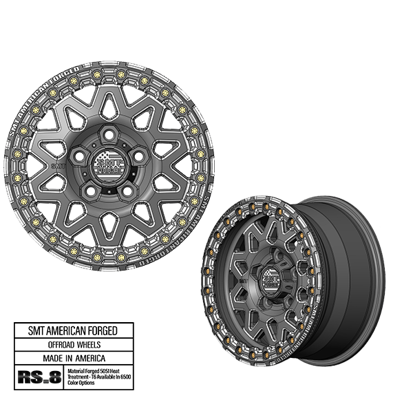 SMT American Forged Off Road Wheel RS8
