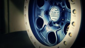 SMT American Forged Off Road Wheels RS2 nave blue powdercoat