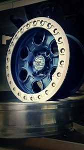 SMT American Forged Off Road Wheels RS2 navy blue powder coat