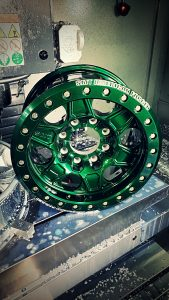 SMT American Forged Off Road Wheels RS2 emerald green powdercoat