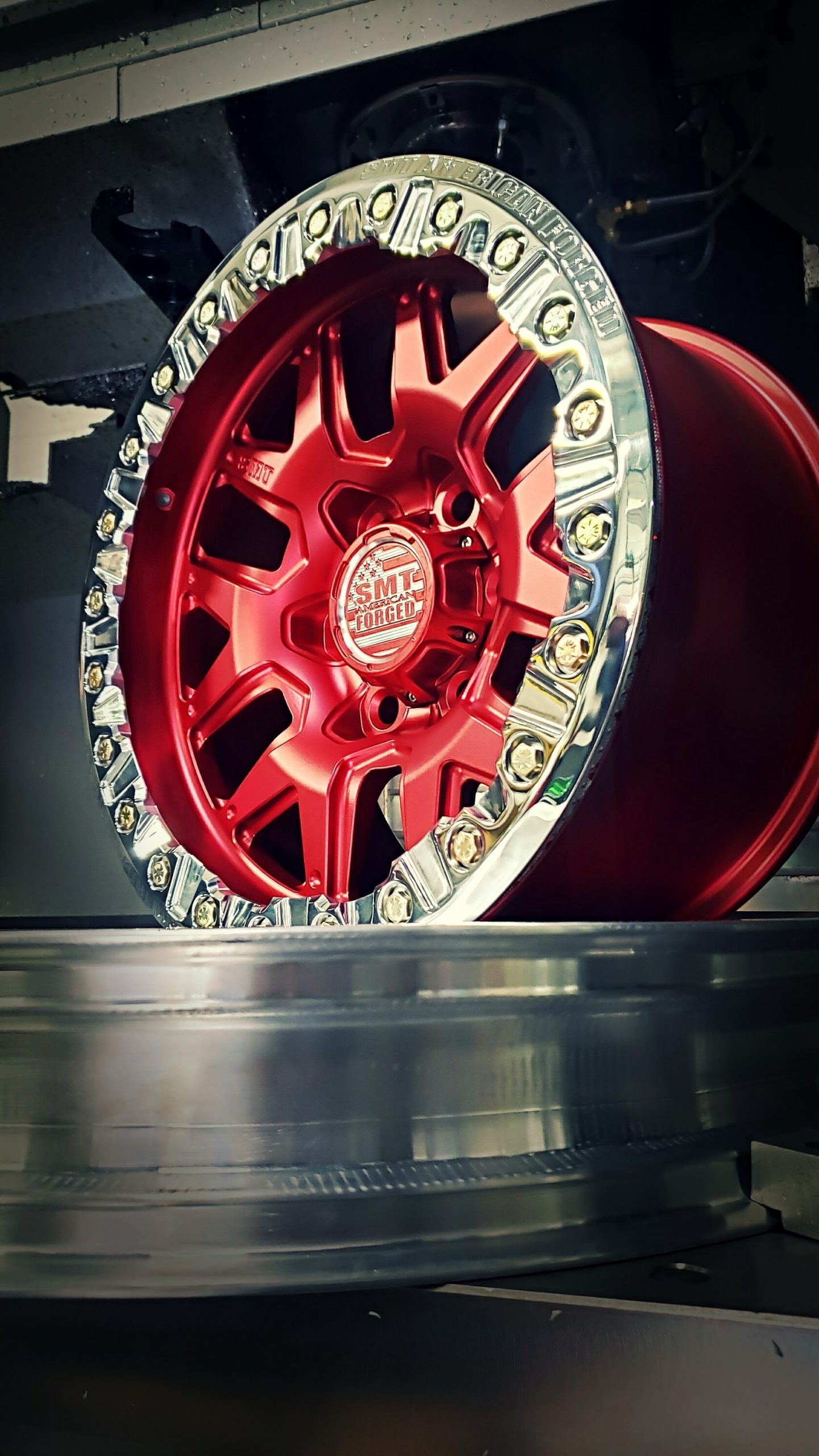 rs-6_beadlock_custom_red_polished_powdercoat_smt_american_forged_off_road_forged_aluminum_wheels